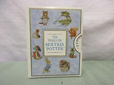 The world of beatrix potter Mr. Tod 467561 figurine decoration collectible Euc