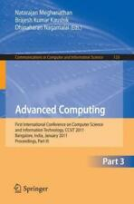 Advanced Computing: First International Conference On Computer Science And ...