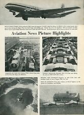 1951 Aviation Article De Havilland Comet BOAC + Martin P5M-1 Marlin + Bell 47-D1