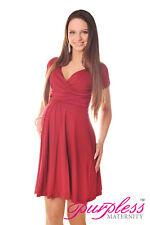0ba06a875f2 New Maternity Short Sleeve Summer Dress Pregnancy Size 8 10 12 14 16 18 8417
