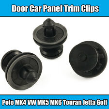 10x Clips For Polo MK4 VW MK5 MK6 Touran Jetta Golf Passat Door Card Panel Trim