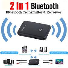 2in1 Bluetooth 4.2 Stereo Audio Transmitter For TV PC MP3 MP4 Speaker Headphone