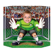 Football Photo Prop - 94 x 64 cm - Soccer Goal Keeper Euro Party Decorations