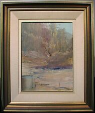 Patrick Shirvington original oil titled 'Rivers End' Australia