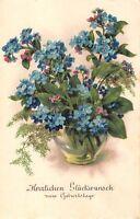 BG4211  lilly  geburtstag  flower birthday germany   greetings