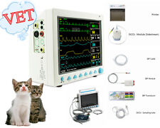 CMS8000 Animale, monitor paziente multiparametrico Veterinay ICU / CCU con EtCO2