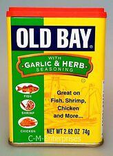 Old Bay Seasoning With Garlic & Herb Seasoning 2.62 oz
