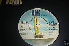 THE VIBRATORS 45 1976 WHIPS AND FURS 1ST 45