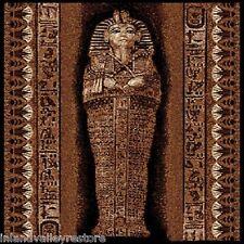 5 X 8 PHARAOH EGYPTIAN MUMMY TOMB AREA RUG