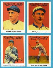 1915 Cracker Jack Reprint Team Sets: St. Louis Browns/Americans