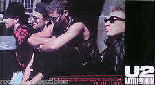 U2 1988 Rattle And Hum Original Movie Promo Poster I