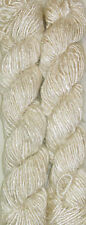 500grams. Himalaya Recycled Natural Soft Sari Silk Yarn Knitting Woven 5 Skeins