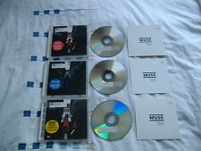 MUSE BLISS CD1 & CD2 & DVD  SET VERY GOOD CONDITION! VERY RARE!