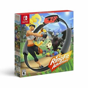 Ring Fit Adventure Standard Edition Nintendo Switch, 2019 Game Accessories