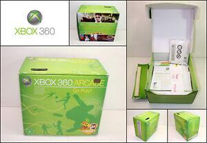 Genuine Microsoft XBOX 360 Arcade with Manuals & Receipt (Box Only)