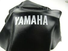 NEW Yamaha DT 100 125 175 250 400 SEAT COVER BLACK MOTORCYCLE SADDLE DT175 DT250