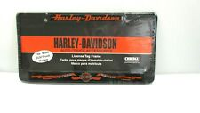 New Harley Davidson  Live to Ride ~ Ride to Live  Metal License Tag Frame 6410