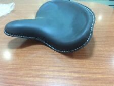 Black Solo Seat Harley 45 Panhead Knucklehead Flathead WL UL Vintage Pogo Police