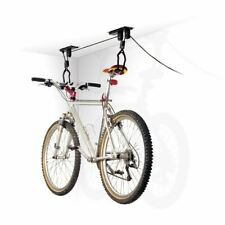 Single Bicycle Ceiling Mount Storage Hoist Pulley System