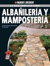 La Guia Completa sobre Albanileria y Mamposteria: Incluye trabajos-ExLibrary