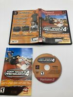 Sony PlayStation 2 PS2 CIB Complete Tested Tony Hawk's Pro Skater 4 Ships Fast