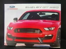 2016 Ford Performance Shelby GT 350 Brochure Tri Fold New
