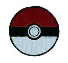 Pokeball Pokemon Go Patch Iron on Applique Alternative Clothing Pikachu Anime