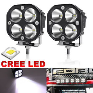 2X 50W CREE LED Work Light Car SUV Motorcycle OffRoad 4X4 Spot Lamp Driving Lamp