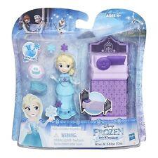 DISNEY FROZEN Elsa Dolci Sogni -Mini Bambola con Accessori- Hasbro B7461