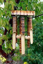 Bambù CAMPANELLI EOLICI - 6 tubi di medio-Giardino Feng Shui