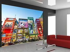City Street  - Japan Wall Mural Photo Wallpaper GIANT DECOR Paper Poster