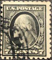 Scott #469 US 1916 Washington Postage Stamp Perf 10 NH XF