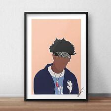 Joey Badass INSPIRED WALL ART Print / Poster A4 A3 rap joey bada$$ MR ROBOT