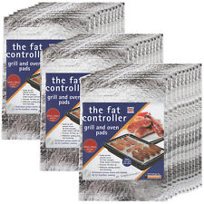 30 x THE FAT CONTROLLER Grill Pan & Oven Protective Grease Absorbant Tray Pads