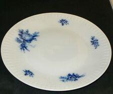 Hutschenreuther Elite Kobalt blaue Rose Blume Kuchenteller 19,7 cm TOP
