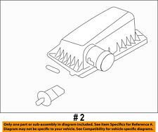 FORD OEM Air Cleaner Intake-Filter Box Housing Lid Top Cover 6L2Z9661B