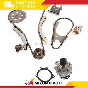 Timing Chain Kit Water Pump Fit 07-11 GMC Hummer Isuzu Chevrolet 2.9L 3.7L