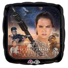 """Star Wars 17 """" quadrato Palloncino rivestito festa di compleanno"""