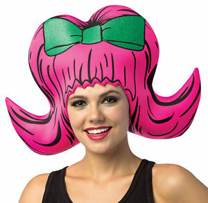 Foam Bouffant Adult Headpiece Hat 50's Housewife Style Halloween Rasta Imposta