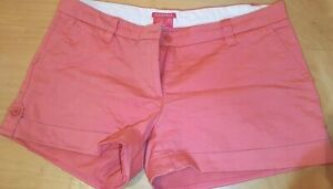 Women Shorts Summer Chino Hot Pants Mid Rise Waist Bottoms Size EUR 40 US 8