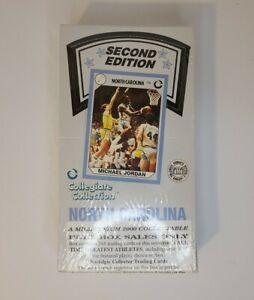 Vtg Basketball Cards - 1990 North Carolina 2nd Edition Michael Jordan - SEALED