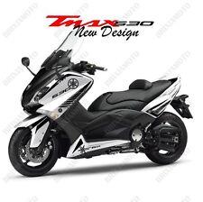 GRAFICO PEGATINAS ADESIVAS NEW DESIGN NEGRO TMAX 530 XP T-Max 2012-2016