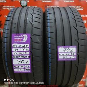 2 x 235 35 R 19 91Y XL M.O. 5.7/5.7mm Dunlop Sp-Maxx-Rt.Ref.75