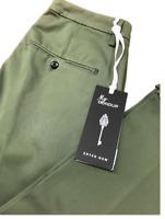 Dondup Pantalone Uomo Mod. UP235 GAUBERT, Nuovo e Originale , SCONTI ,Col. VERDE