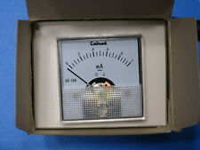 Calrad 60-158 0-1mA Panel DC Current Meter Ammeter