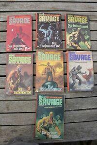 Doc Savage der Bronzemann Roman nur Taschenbücher ( 7x )