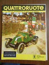 QUATTRORUOTE n.8 settembre 1956 - ORIGINALE