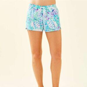 NWT Lilly Pulitzer Ladies XS Run Around Craysea Amethyst Tint Shorts New 002323