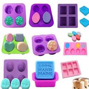 Silicone Cake Decor DIY Mould Candy Cookies Soap Chocolate Baking Pan Tray Molds