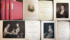 1888 ANNALS OF THE ENGLISH STAGE THOMAS BETTERTON EDMUND KEAN 3 VOLS ILLUSTRATED